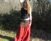Turkish Harem Pants, Boho chic pants,  Women and Men Pick your fabric handmade
