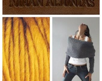 Knit.thing 03 - Mustard Yellow - READY TO SHIP