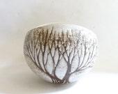 1970s Ceramic Tree Bowl Vase Anderson Studios