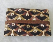 Tissue Holder Quilted - Basset Hound too