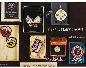 Small Embroidery Accessory - Japanese Craft Book