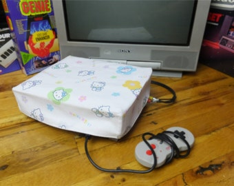 Hello Kitty WRETRO WRAPPER console dust cover