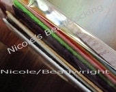 BeadBacking Nicoles Sample Kit Bead Embroidery Soutache Beading 16 Colors