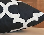 Add Personalization - DESIGNER Pet Bed Duvet Cover - Stuff with Pillows - YOU Choose Fabric - Fynn Onyx Natural shown