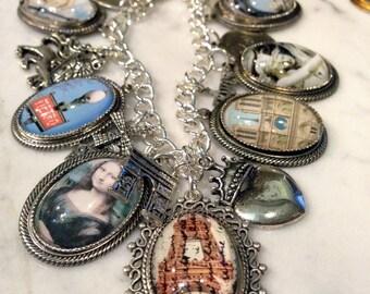 Paris Charm Bracelet Parisian Charm Bracelet