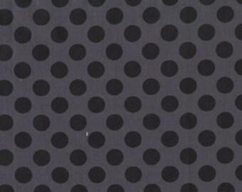 Michael Miller Ta Dot Ebony Fabric - Half Yard