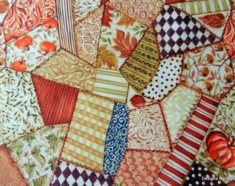 Crazy quilt fabric | Etsy : quilting fabrics supplies - Adamdwight.com