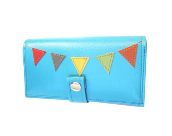Bunting ) Pocketbook Slash Checkbook Wallet