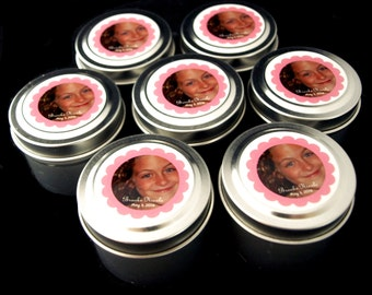 First Holy Communion Favor Gift Soy Travel Candles