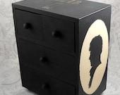Sherlock Holmes Stash Jewelry Box - Black Drawers
