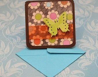 Floral Mini Cards - Set of 8