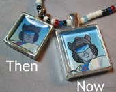Custom Paint IMPROVED! - your favorite TF Character necklace