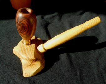 Wood smoking pipe, New design for 2014 ON SALE!