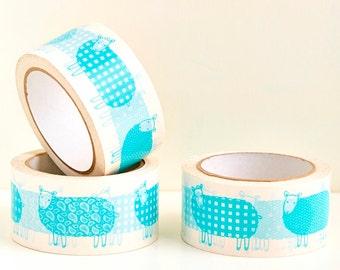 Sheep Gift Wrap Tape