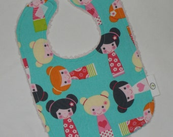 Aqua Dolls Boutique Bib - SALE