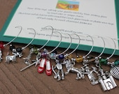 NEW FREE SHIPPING Set of 10 WIzard of Oz Charms