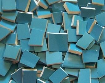 Mosaic Tiles- Aquatic Turquoise -50 tiles