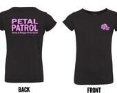 Personalized Petal Patrol shirt flower girl tshirt  tee