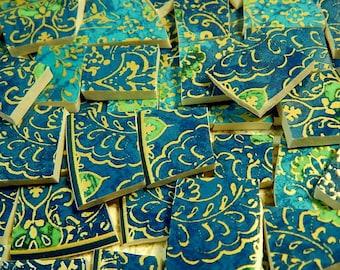 Mosaic Tiles  BLuE OPuLeNCE  China Mosaic Tiles