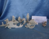 Mermaid FantaSea, Unfinished Pine Cutouts
