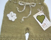 Baby Item...WOOL DIAPER SOAKER/ Knitted size Small...Close Out Sale...