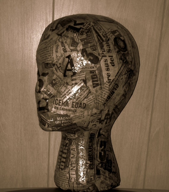 Mannequin Display Head by Ira Mency