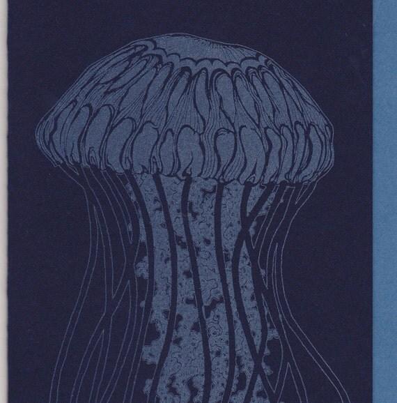 Drifting Jellyfish Card