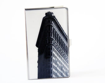 Corporate Gift, NYC Gift, Business Card Case, Urban Photography, Groomsmen Gift, Coworker Gift, Business Card Holder, Graduation Gift