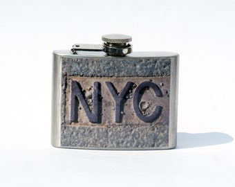 FLASK -  Hip Flask - NYC - 4oz