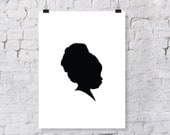 Custom Child or Adult Silhouette Print
