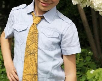PDF pattern Instant Download Pablo boys fancy strap necktie TIE featuring Indelible fabrics by Katarina Roccella in sizes newborn - 10 yrs