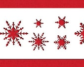 Snowflake Cake, Cookie, & Cupcake Stencil - Designer Stencils (C048) face painting