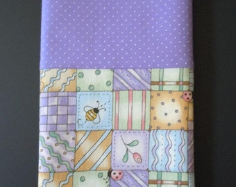 Bugs and Boxes- Travel Pillowcase- Free US Shipping
