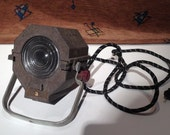 Vintage Industrial Retro Movie Spot Light Theater Theatrical Stage Lamp