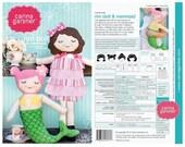 Rini Doll & Mermaid Sewing Pattern