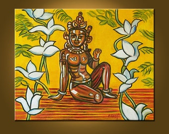 Art Painting Original Painting -- Goddess -- 16 x 20 inch painting by Elizabeth Graf on Etsy, READY to HANG