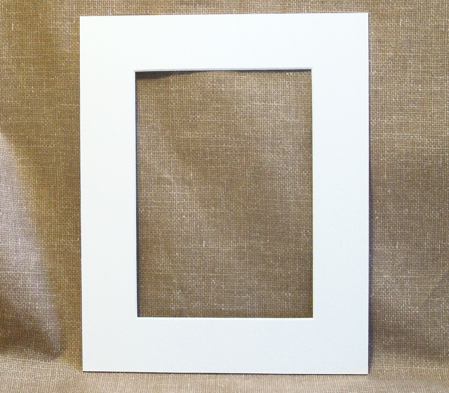 Mat White To Fit 8 X 10 Frame Cut For A 5x7