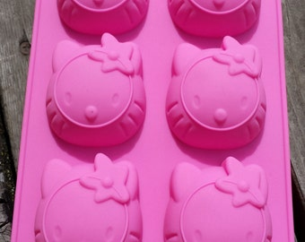 Large Hello Kitty Silicone Mold