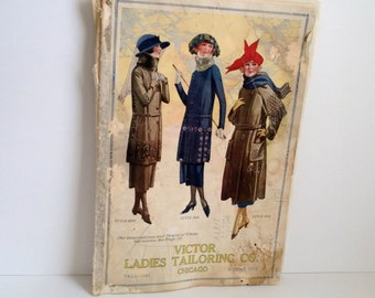 Victor Ladies Tailoring Co. catalog 1921