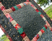 Quilted Table Runner - Scrappy Squares