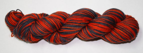 Trick or Treat Self Striping Hand Dyed Yarn