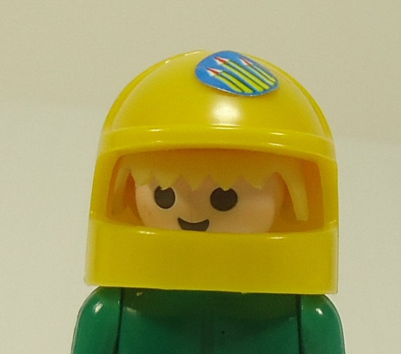 Vintage Playmobil Yellow Astronaut Space Helmet by ...