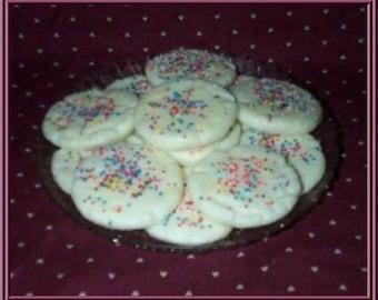 Bakery Wax Cookie Tarts Sugar Cookie Crunch