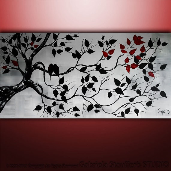 Abstract Painting Birds Painting Landscape Painting Tree