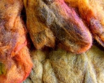 Hand Dyed Merino Wool - Harvest