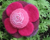 Pattern - Felt Flower Pin - Instructions with VARIATIONS -- Tutorial, DIY, Electronic Delivery