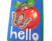 Hello Card // Edith Bunker Collage