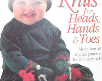 Kids Knits for Heads Hands & Toes Knitting Book by Debbie Bliss