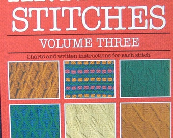 The Harmony Guide To Knitting Stitches Pattern Book Volume Three