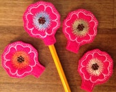 Bloomed flower pencil topper upick colors